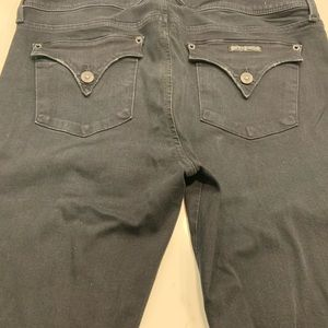 Hudson Jeans Jeans - Hudson Black Skinny Flap Back Jeans